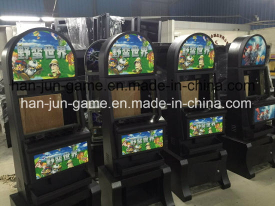 New Jackpot Kenya Gaming Cabinet Bonus Slot Game Machines