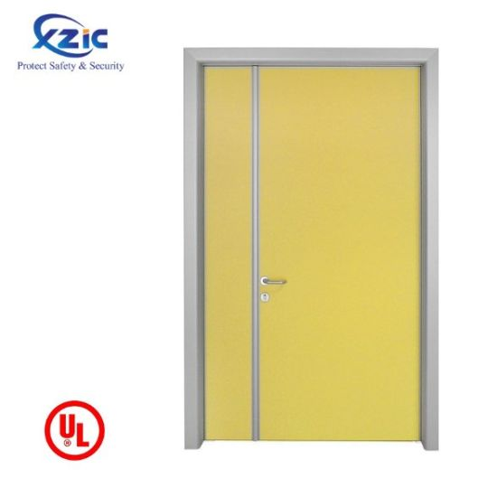 UL Listed Fire Rated Hollow Metal Door with Panic Bar pictures & photos