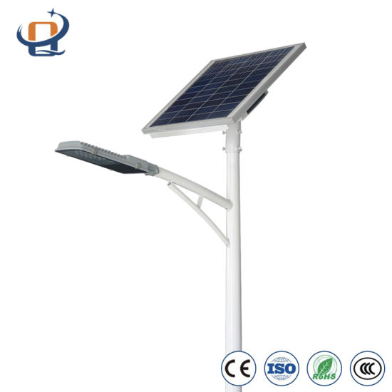 High Quality Hot-DIP Galvanized Steel Yangzhou Bright Solar LED Modern Street Lighting