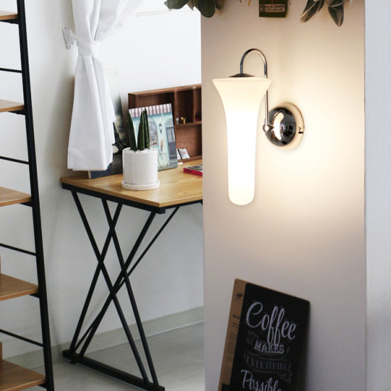 Indoor/Interior Modern Bedroom Decorative Glass LED Wall Lamp