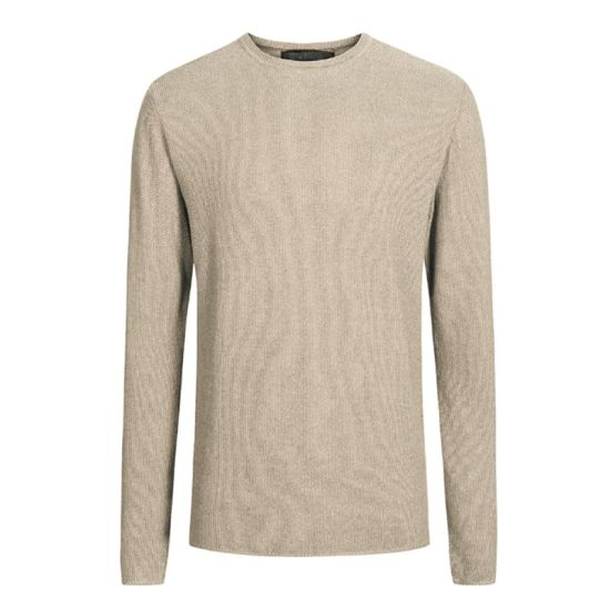 9049e663b China OEM Custom Merino Wool Men Crewneck Jumper - China Men Sweater ...