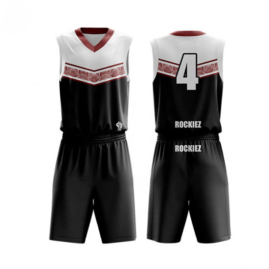 Best Selling Custom Quick-Drying Basketball Uniform Sports Jersey