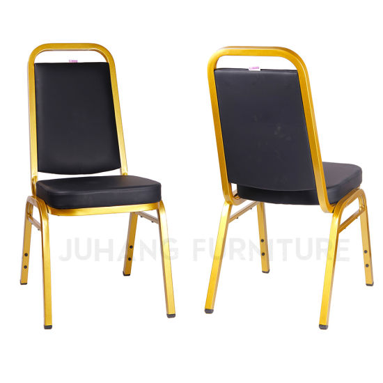 Aluminium / Steel Wedding Conference Horel Banqueting Chairs (HM-S034-2)
