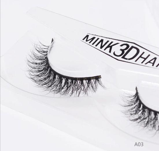 c458a729913 Labor 1 Pairs Natural False Eyelashes 3D Mink Lashes Eyelash Extension for  Makeup pictures & photos