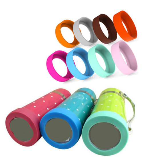 Non-Slip Silicone Coaster Bottle Bottom Protective Sleeve Silicone Cup Holder
