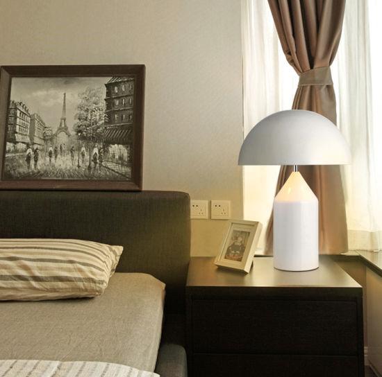 Mushroom Table Lamp Postmodern Minimalist Light Bedroom Study Table Lamps (WH-MTB-14)