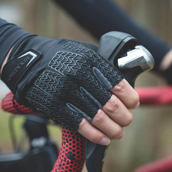 Cycling Bike Gloves Autumn Spring MTB Bike Bicycle Gloves Gel Pad Shockproof Half Finger Mittens Gloves