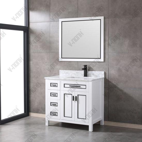 Wholesale Bathroom Cabinets Wood Furniture Bathroom Vanity