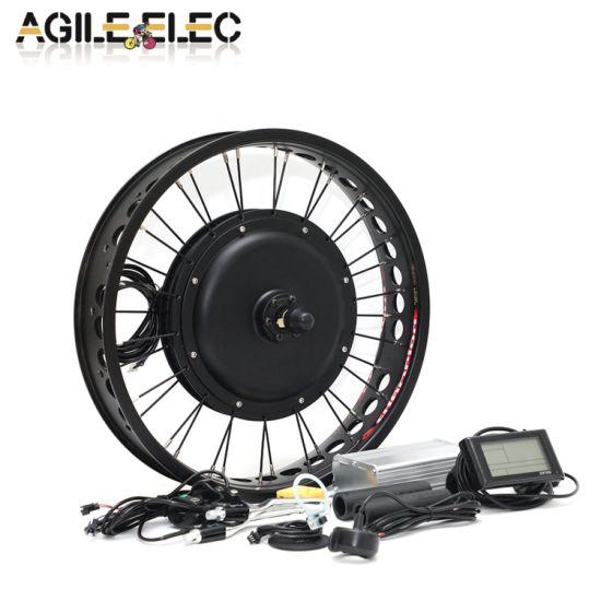Agile 20''~26'' 1000W Electric Bicycle Hub Motor Kit for Fat Bike