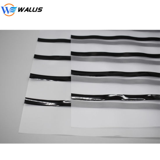 Wholesale A4 0.08mm Transparent PVC PC Coated Overlay Sheet with Hi-Co Lo-Co Magnetic Stripe for PVC Card