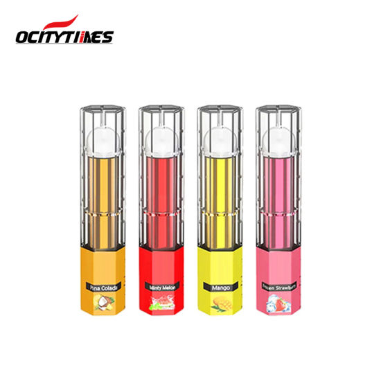 Ocitytimes 1.5-2.5ml Big Capacity Salt Nicotine Disposable Electronic Cigarette pictures & photos