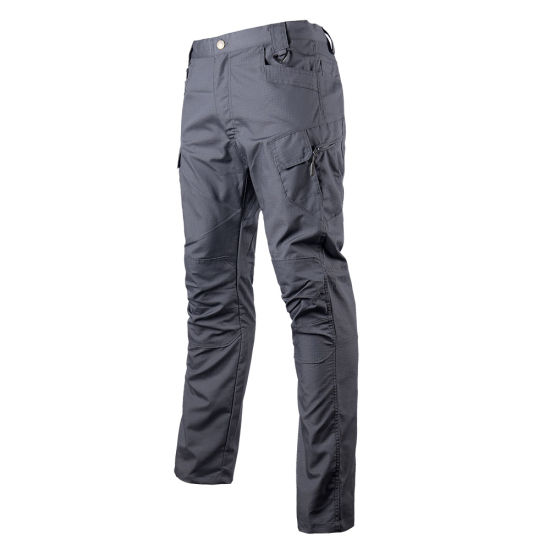 IX7 Cargo Grey Pants Training Outdoor Tactical Trousers