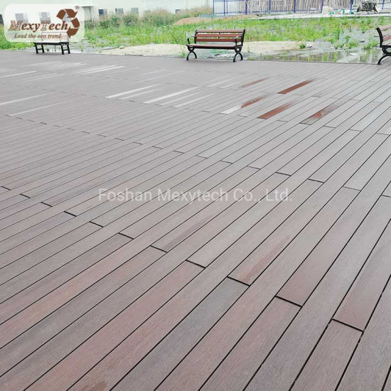 Guangdong Wood Plastic Composite WPC Outdoor Decking for Wholesale