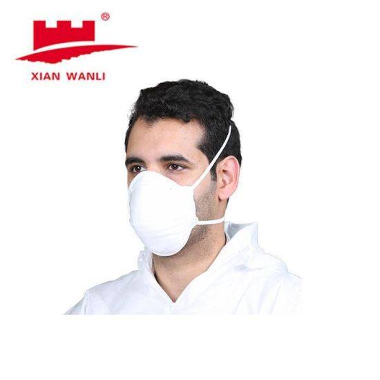 FFP1/2 Disposable Respirator Mask Dust Non-Woven Face Mask Without Valve Active Carbon Mask