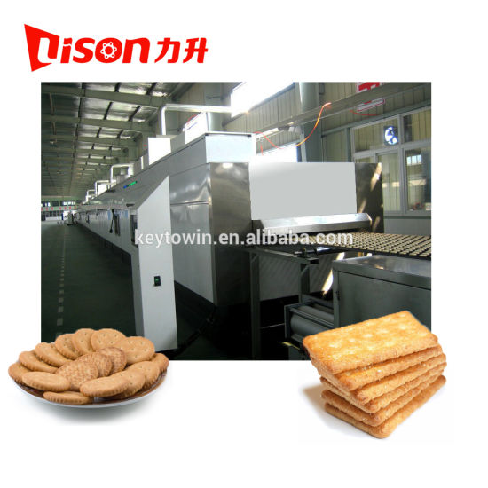 Automatic Hard and Soft Biscuit Production Line Price