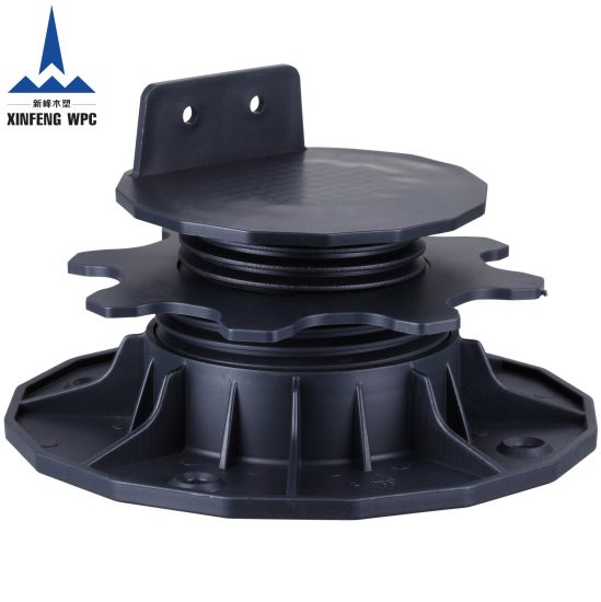 Best-Selling Adjustable Pedestal for Supporting Timber, WPC Decking