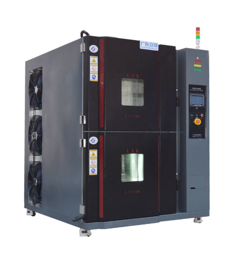Two Boxes Thermal Cold Shock Test Chamber