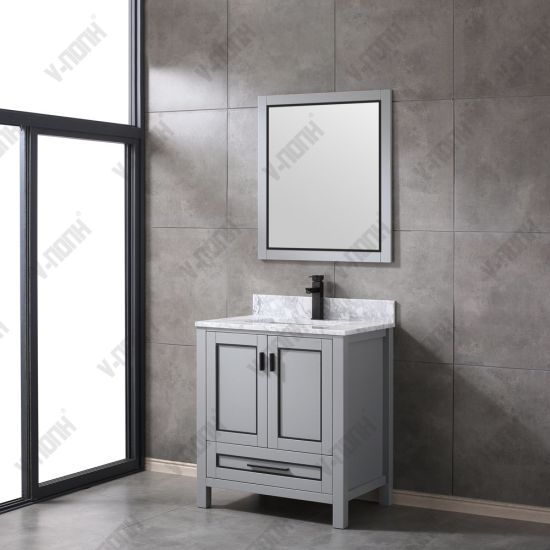 Solid Wood Single Bathroom Vanity
