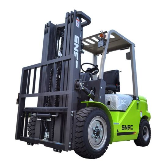 Snsc 3 Ton Autoelevadores Forklift with Japan Isuzu C240 Engine