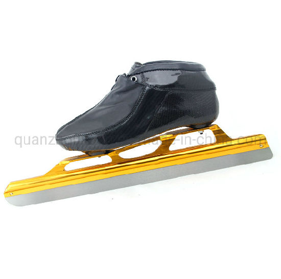 OEM Carbon Fiber Short Track Speed Ice Skating Shoes pictures & photos