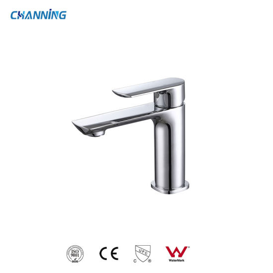 Channing Top Selling High Quality Bathroom Single Handle Chrome Brass Tap Wash Basin Faucet (QT-72 1101)