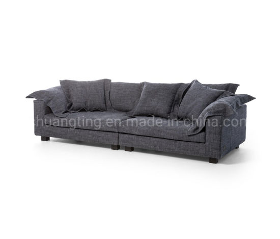 Fashion Newest Nordic Modern Fabric Sofa Set, Wholesale Home Living Room Furniture Velvet Sofa