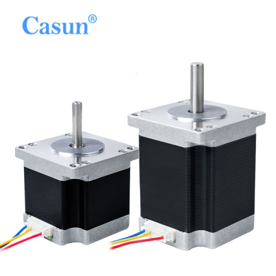 1.8 Degrees Smooth Operation NEMA23 Stepper Motor for Electric Vehicles