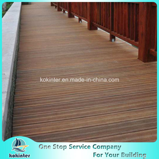 Bamboo Decking Outdoor Strand Woven Heavy Bamboo Flooring Villa Room 49 pictures & photos