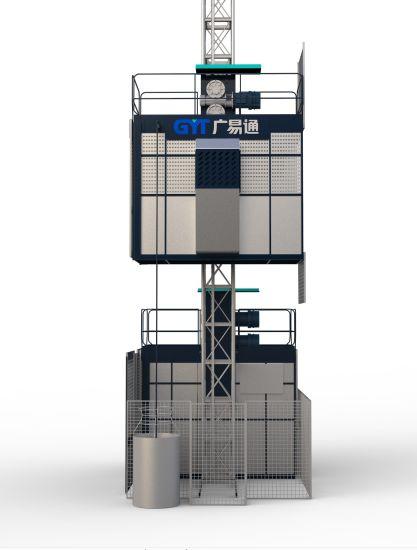 CE Approved Building Hoist Construction Hoist Material Hoist/Passenger Hoist From China Manufacturer