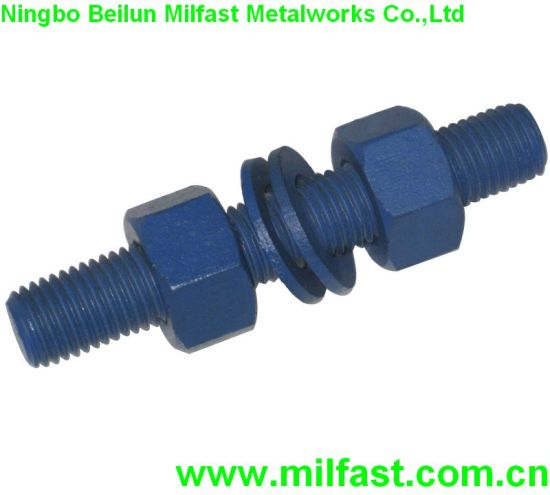 China Stud Bolts with Teflon Coating - China Threaded Rod, Stud