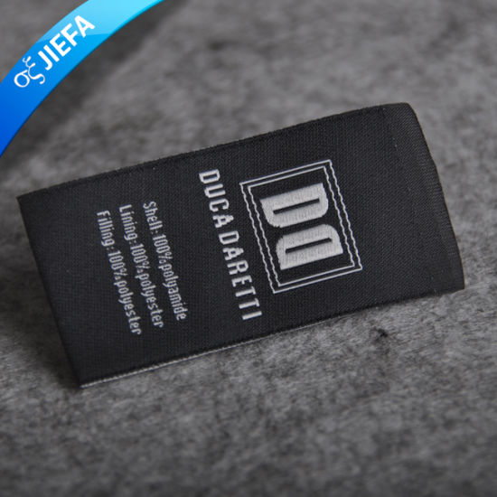 Custom Brand Logo Polyster Printed Label for Clothing pictures & photos