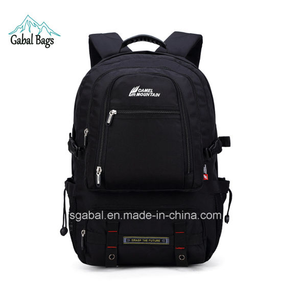 40L Camel Mountain Pack Sports Hiking Travel Laptop Bag Backpack