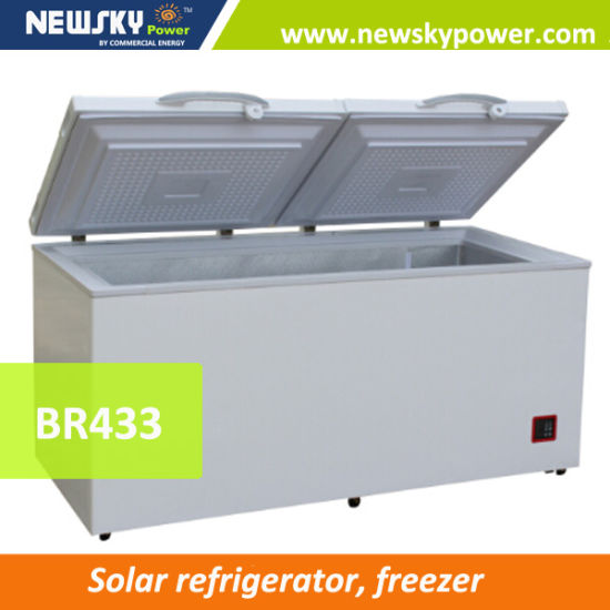 China New Single / Dual Temperature 90L to 433L Solar Freezer pictures & photos