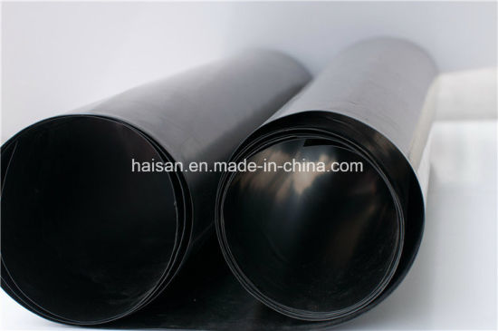 Geomembrane HDPE Black White Color 1mm pictures & photos