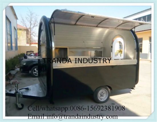 Equipment For Small Business Food Van Mobile Cart