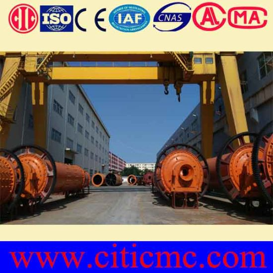 Citic IC Ball Mill Parts for Energy-Saving Shell pictures & photos