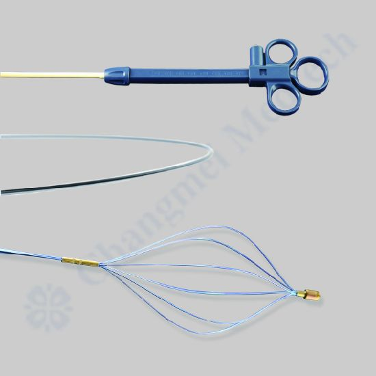 Changmei Medtech Disposable Endoscopic Stone Retrieval Basket - Diamond Shape CE Certificate pictures & photos
