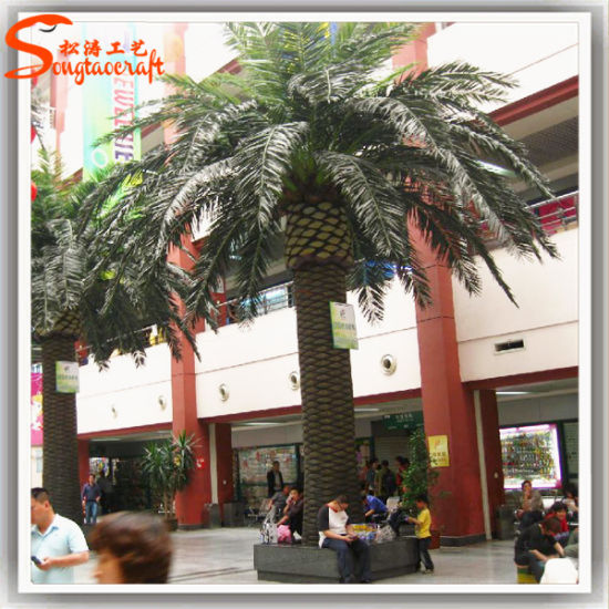 China Wholesale Home Decoration 6 Ft Fake Tree Date Palm Tree