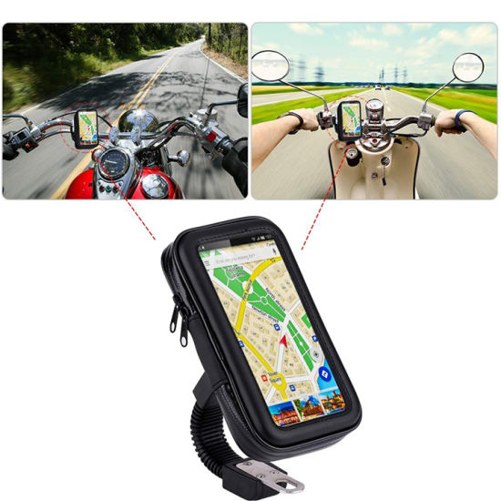 Flexible Motorcycle Waterproof Bag Holder Motor Mobile Phone Holder pictures & photos