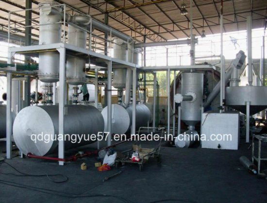 Scrap Tire Recycle Pyrolysis Waste Plastic to Oil Plant