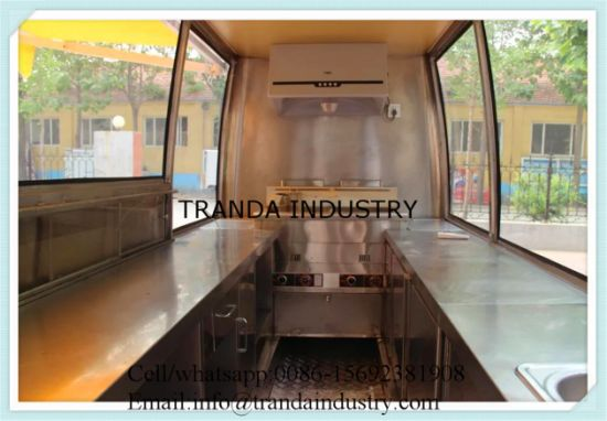 Corn Roasterpizza Kiosks BBQ Ovenmobile Buffet Car with Awnings pictures & photos