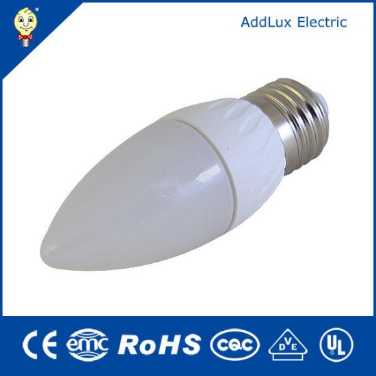 Good Quality & Price Screw Base 3W E14 E27 Cheap Wholesale SMD Candle LED Bulb