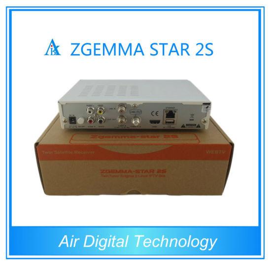 China Zgemma-Star 2s Original Enigma2 Linux OS Twin