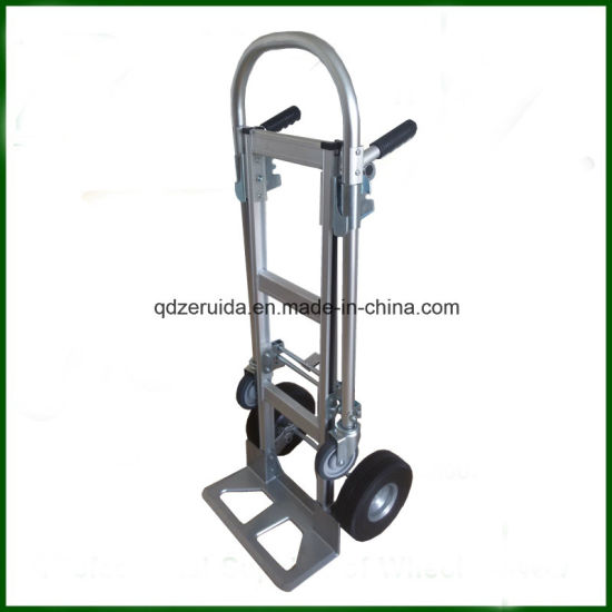 Load Capacity up to 350 Kgs Aluminum Convertible Hand Trolley/Hand Truck