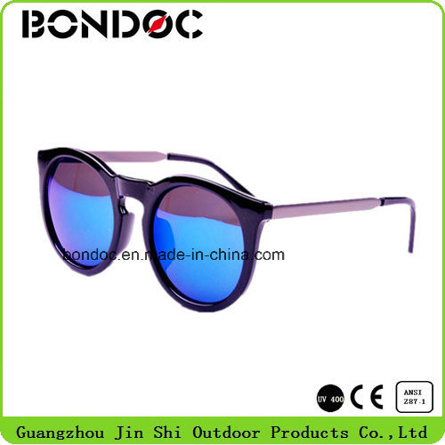 Hot Selling Round Frame Plastic Sunglasses pictures & photos