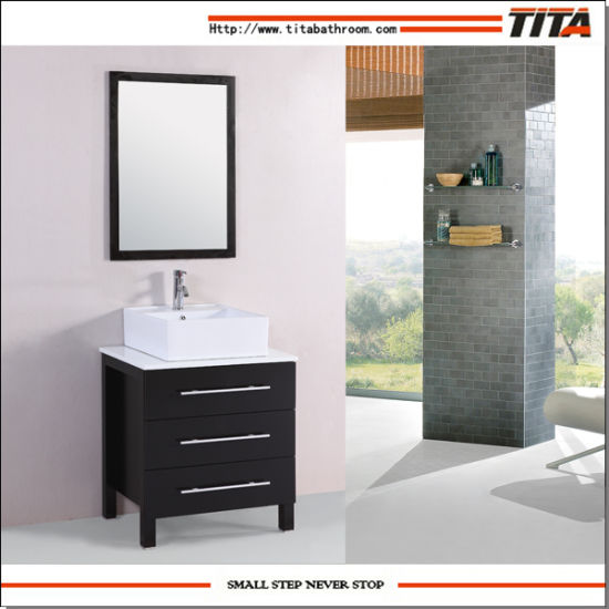 Corner Bathroom Vanity/Modern Bathroom Cabinets/Bathroom Furnitures (T9026)