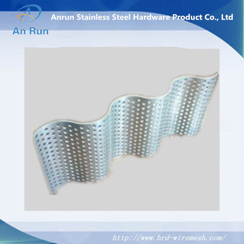 Aluminium Corrugated Perforated Metal Plate with Wave pictures & photos