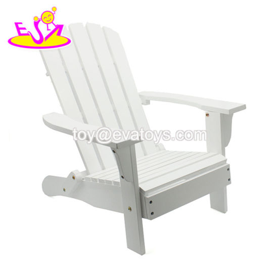 Hot Item New Design Mini Wooden Beach Lounge Chair For Children W08g241