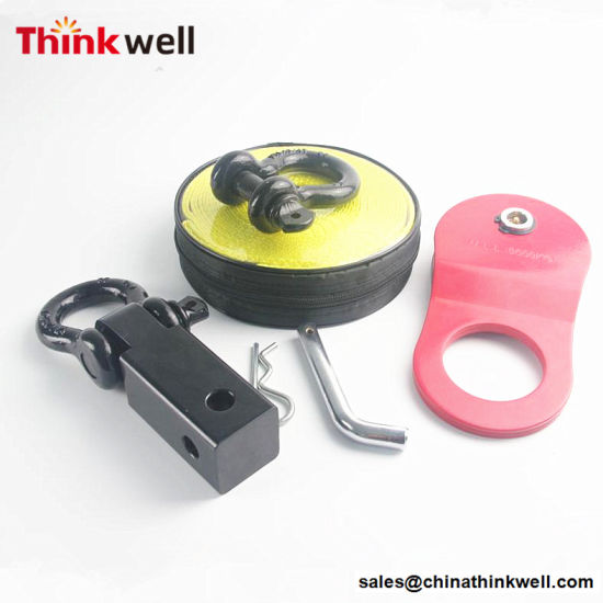 Snatch Strap Bow Shackle 4WD Winch Recovery Kit pictures & photos
