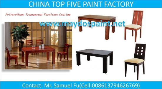 China Top Five Paint Factory Maydos Two Pack Polyurethane Base Furniture  Wood Varnish